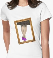 Hot Shoes - Purple! Women's Fitted T-Shirt