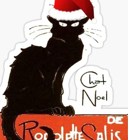 Le Chat Noel Sticker