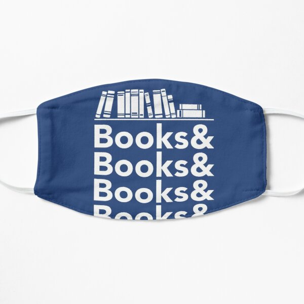 Books | Literary Book Nerd Helvetica Typography Mask
