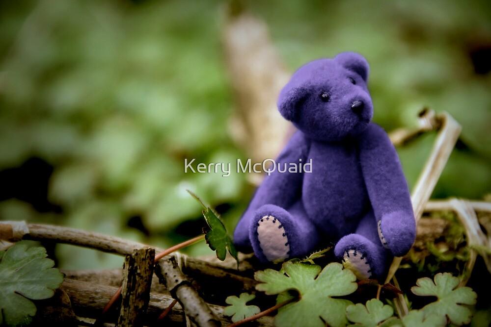 Blue Bear by Kerry McQuaid