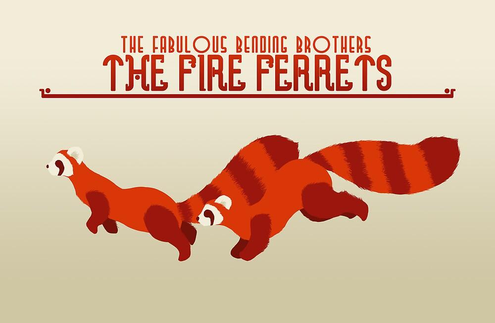 The Fire Ferrets by Caroline Kilgore