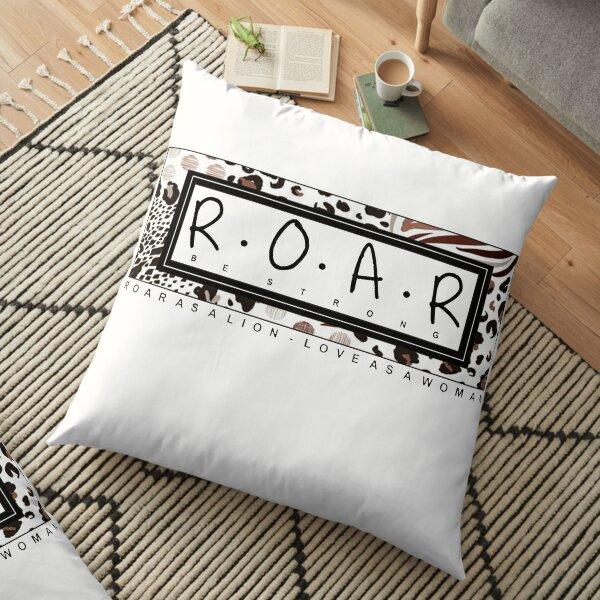 R.O.A.R AS A WOMAN Floor Pillow