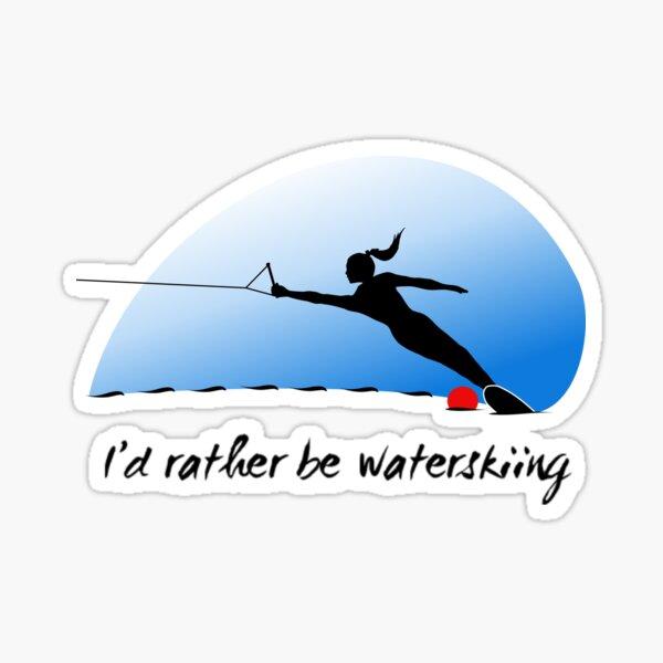 Water Ski Girl Sticker