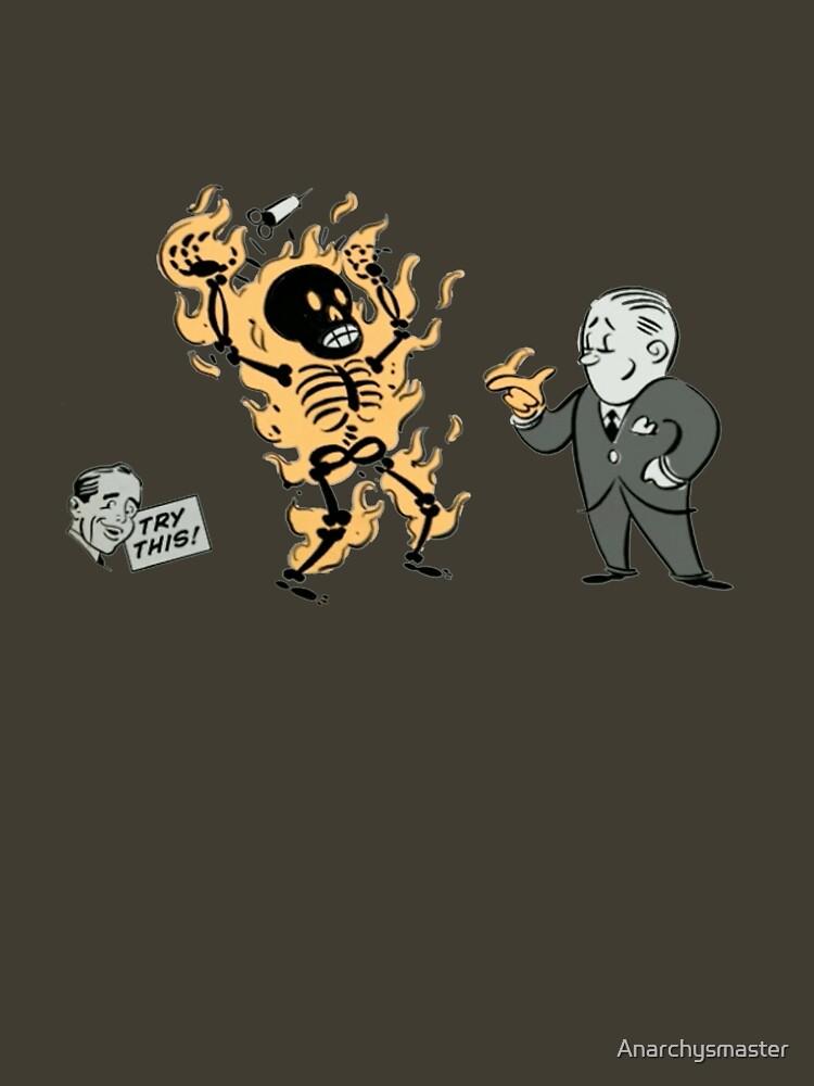 incinerate advert | Unisex T-Shirt