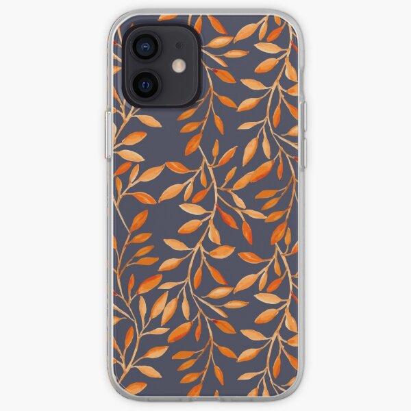 Autumn pattern iPhone Soft Case
