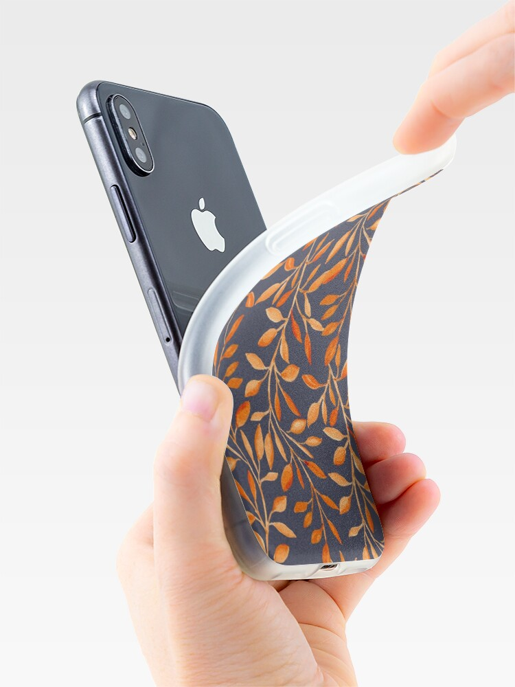 Alternate view of Autumn pattern iPhone Case & Cover