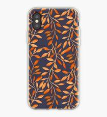 Autumn pattern iPhone Case