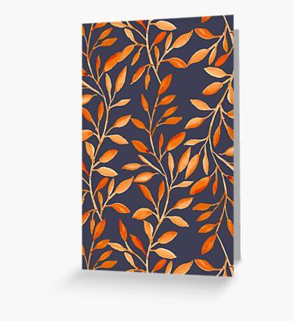 Autumn pattern Greeting Card