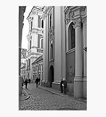 Poznan street scene Photographic Print