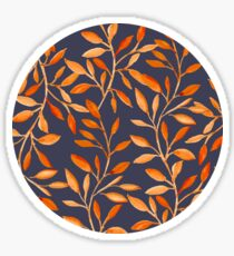 Autumn pattern Sticker