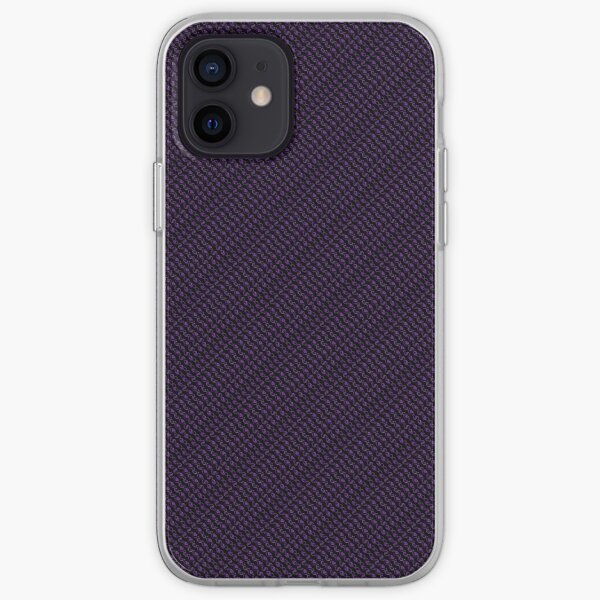 Scrumptious Eggplant Diagonal iPhone Soft Case