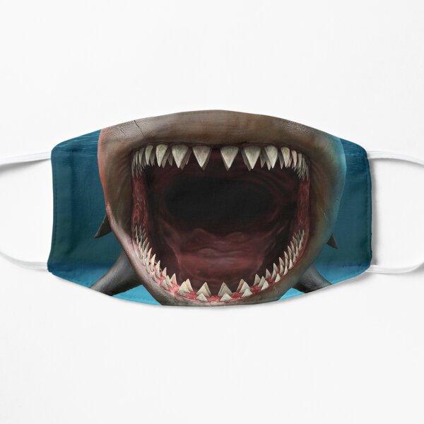 Shark Teeth Face Mask Cool Shark Head Funny Flat Mask