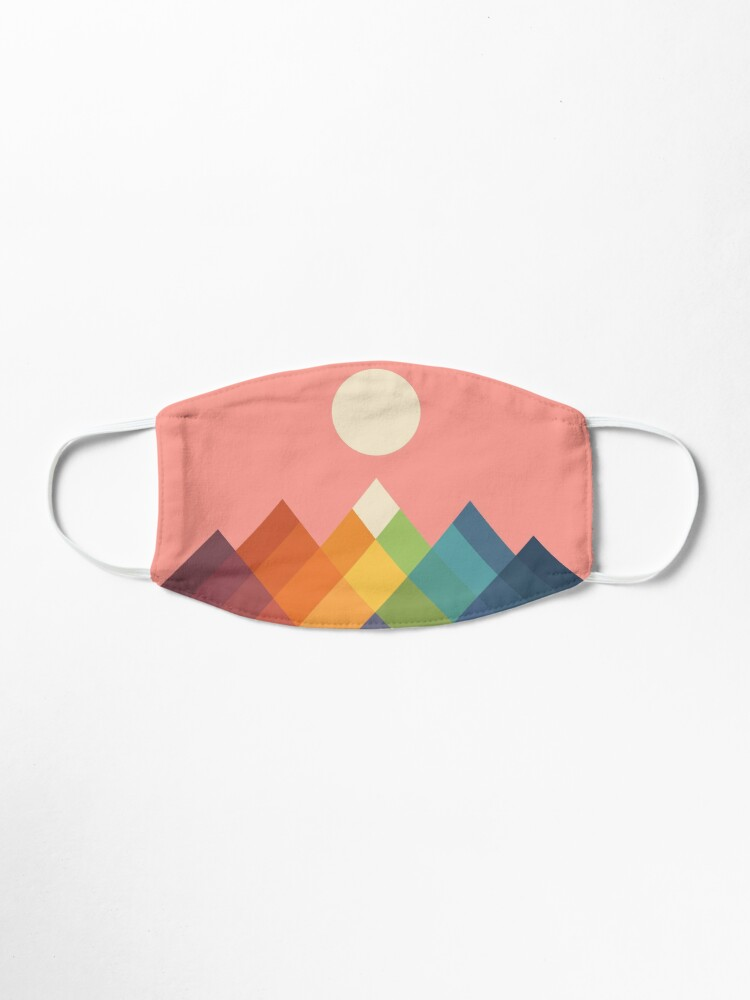 Alternate view of Rainbow Peak Mask