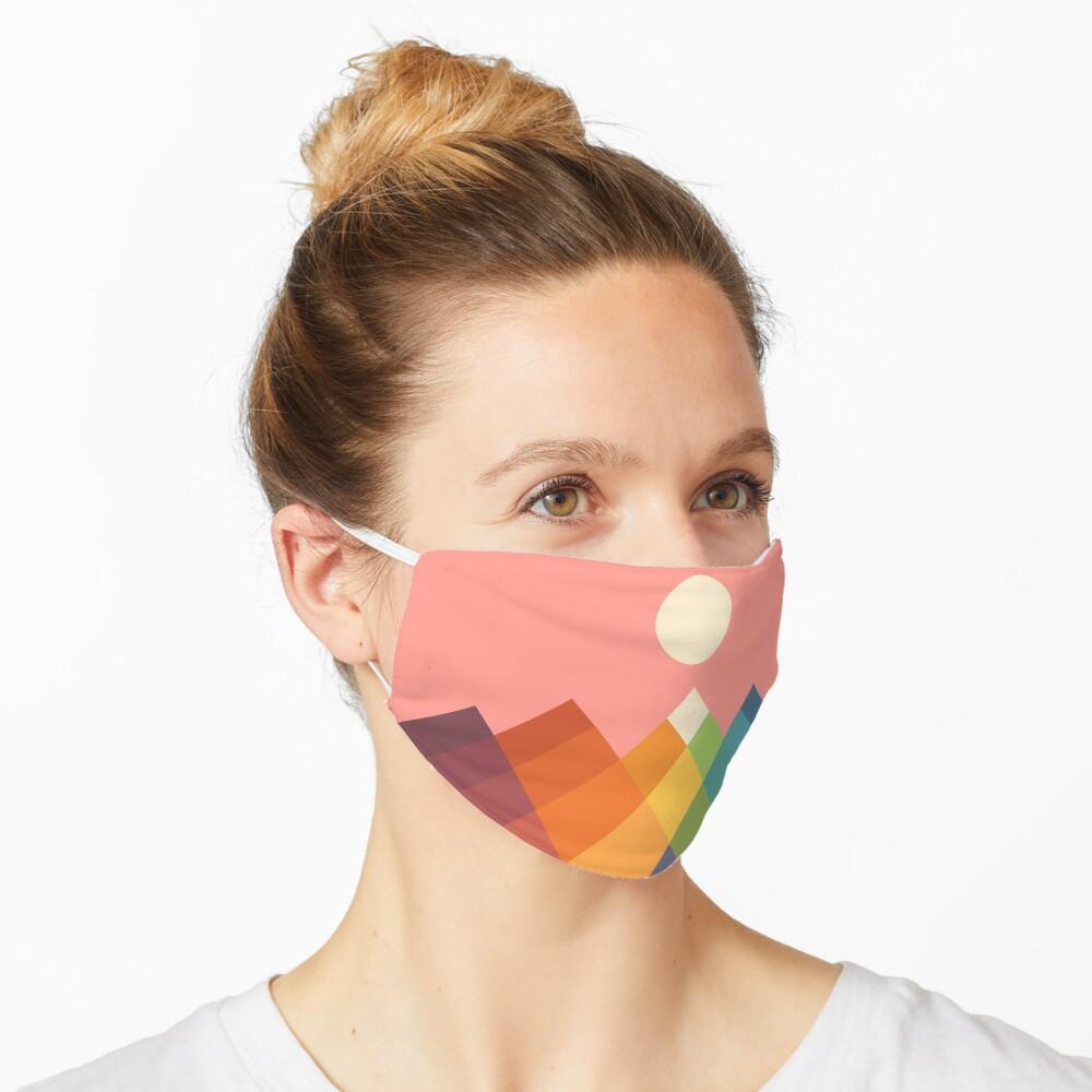 Rainbow Peak Mask