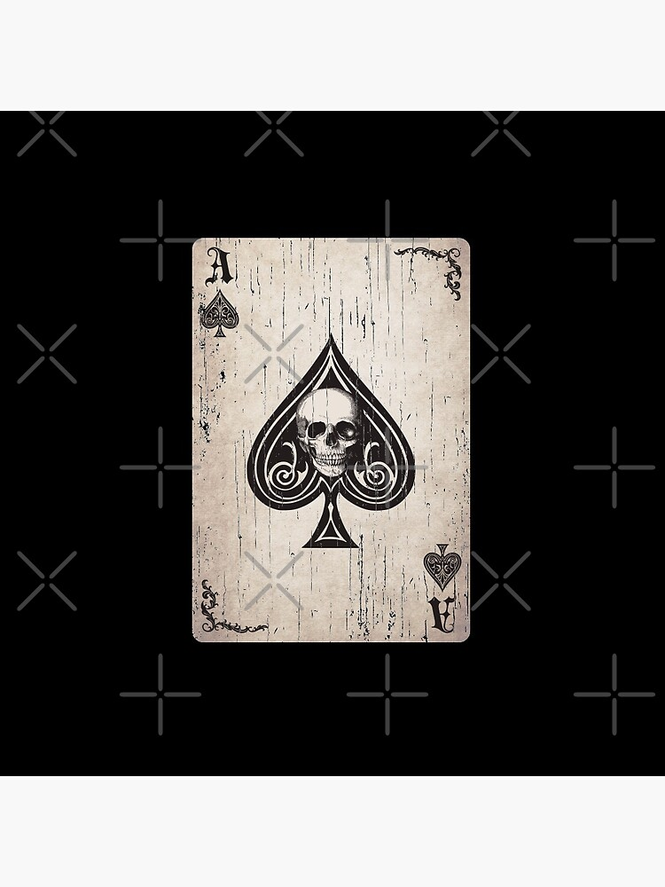 Ace of Spades Death Card by Beltschazar