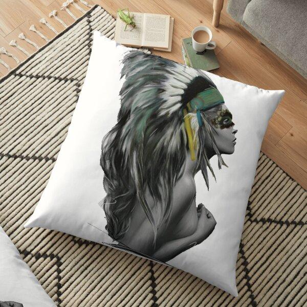 INDIAN BEAUTY Floor Pillow