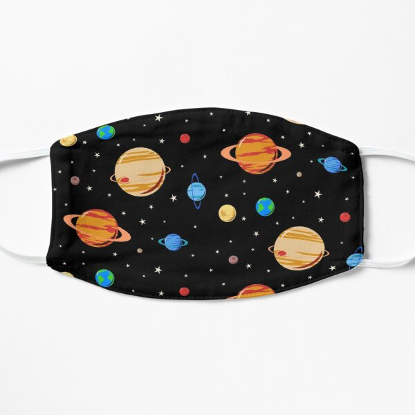 Cute Planets Pattern Mask