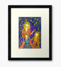 Mother's Nature ~ sharing the beauty of life Framed Print