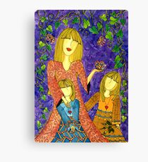 Mother's Nature ~ sharing the beauty of life Canvas Print