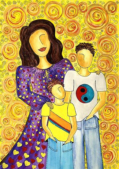 Mother's Pride ~ beautiful boys by Lisafrancesjudd