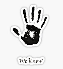 Dark Brotherhood Knows.. You've been Bad! Sticker