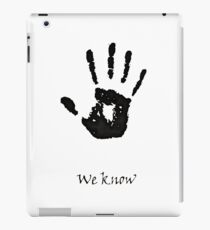 Dark Brotherhood Knows.. You've been Bad! iPad Case/Skin