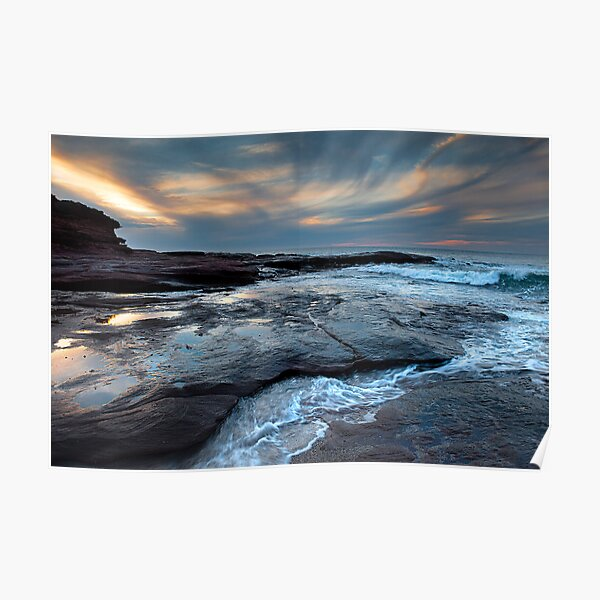 Red Bluff Beach - Kalbarri Poster