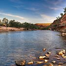 Upriver - Ross Graham Gorge - Kalbarri by John Pitman