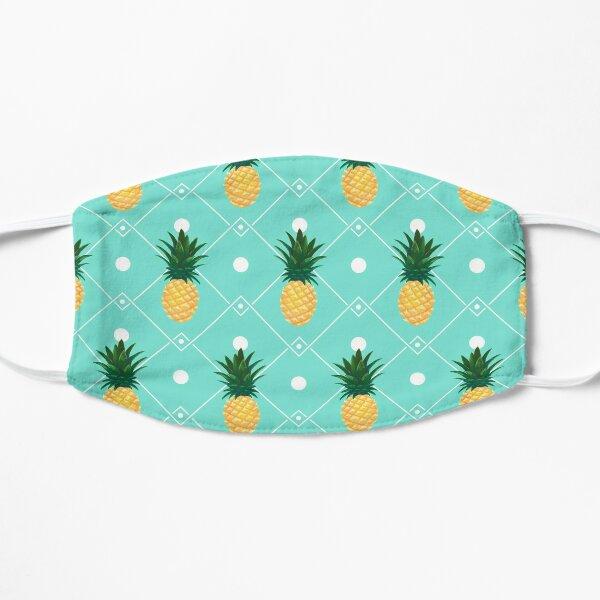 Pineapples Flat Mask