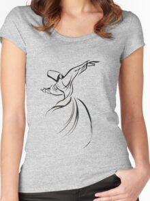 Sufi Meditation Women's Fitted Scoop T-Shirt