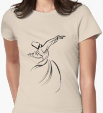 Sufi Meditation Womens Fitted T-Shirt