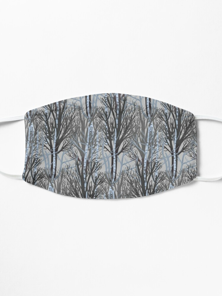 Alternate view of Winter Trees Mask