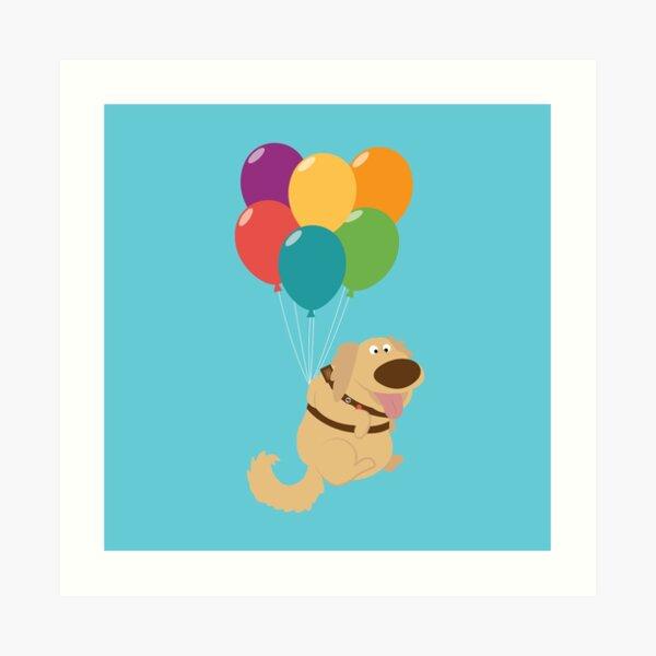 Dug Balloons Art Print
