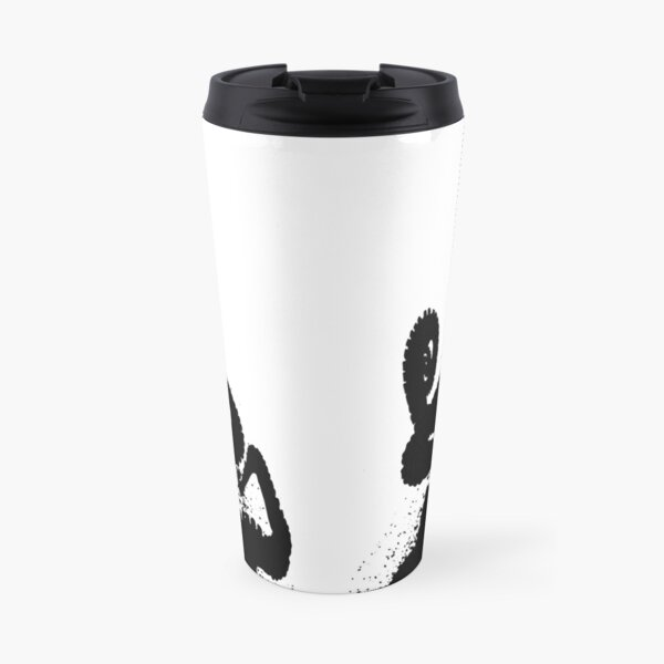 Tentacles From The Depths (solid black) Travel Mug