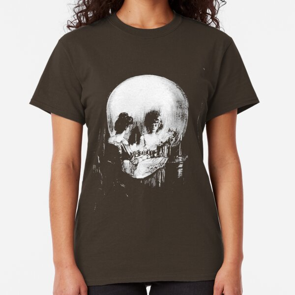 All Is Vanity: Halloween Life, Death, and Existence Classic T-Shirt