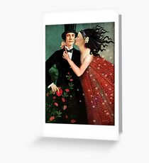 The Art of Seduction Greeting Card