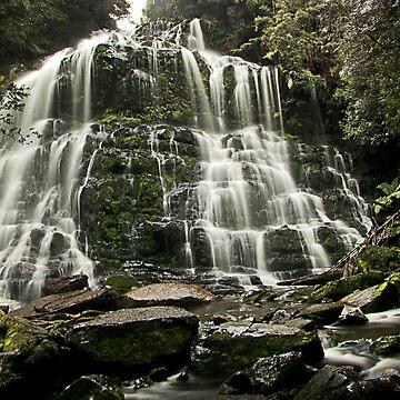 Nelson Falls, Tasmania by JuliaKHarwood