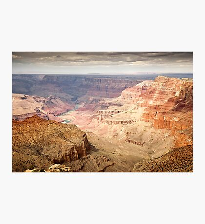 Grand Canyon Evening View Photographic Print