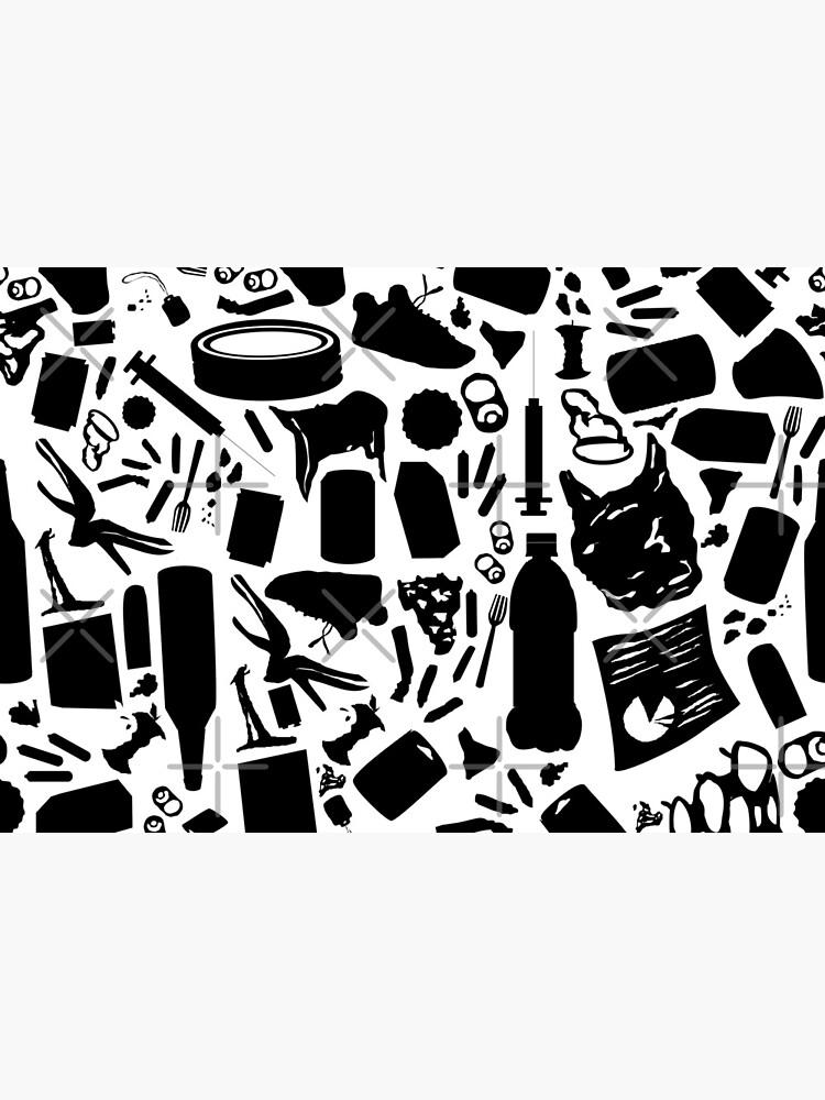 A Trashy Pattern by aimeecozza