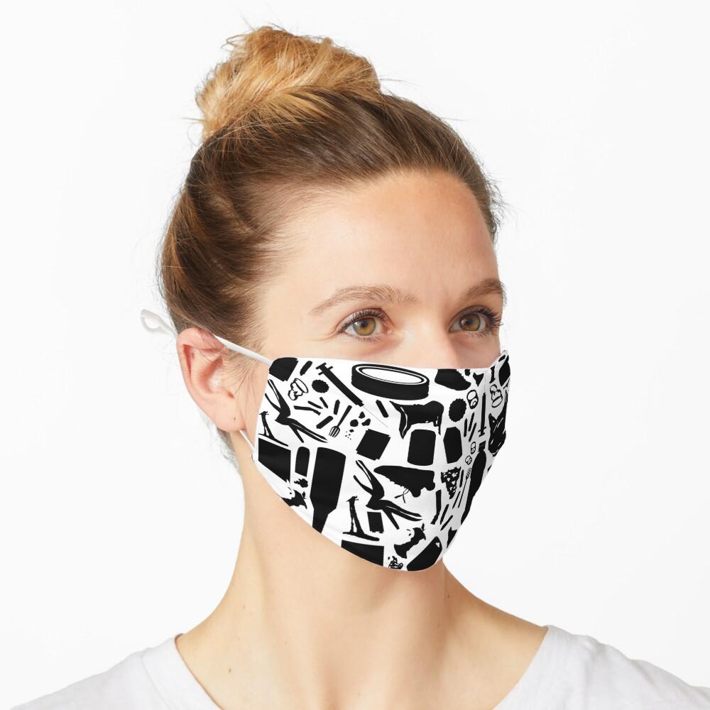A Trashy Pattern Mask