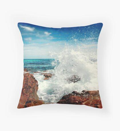 Spray... Throw Pillow