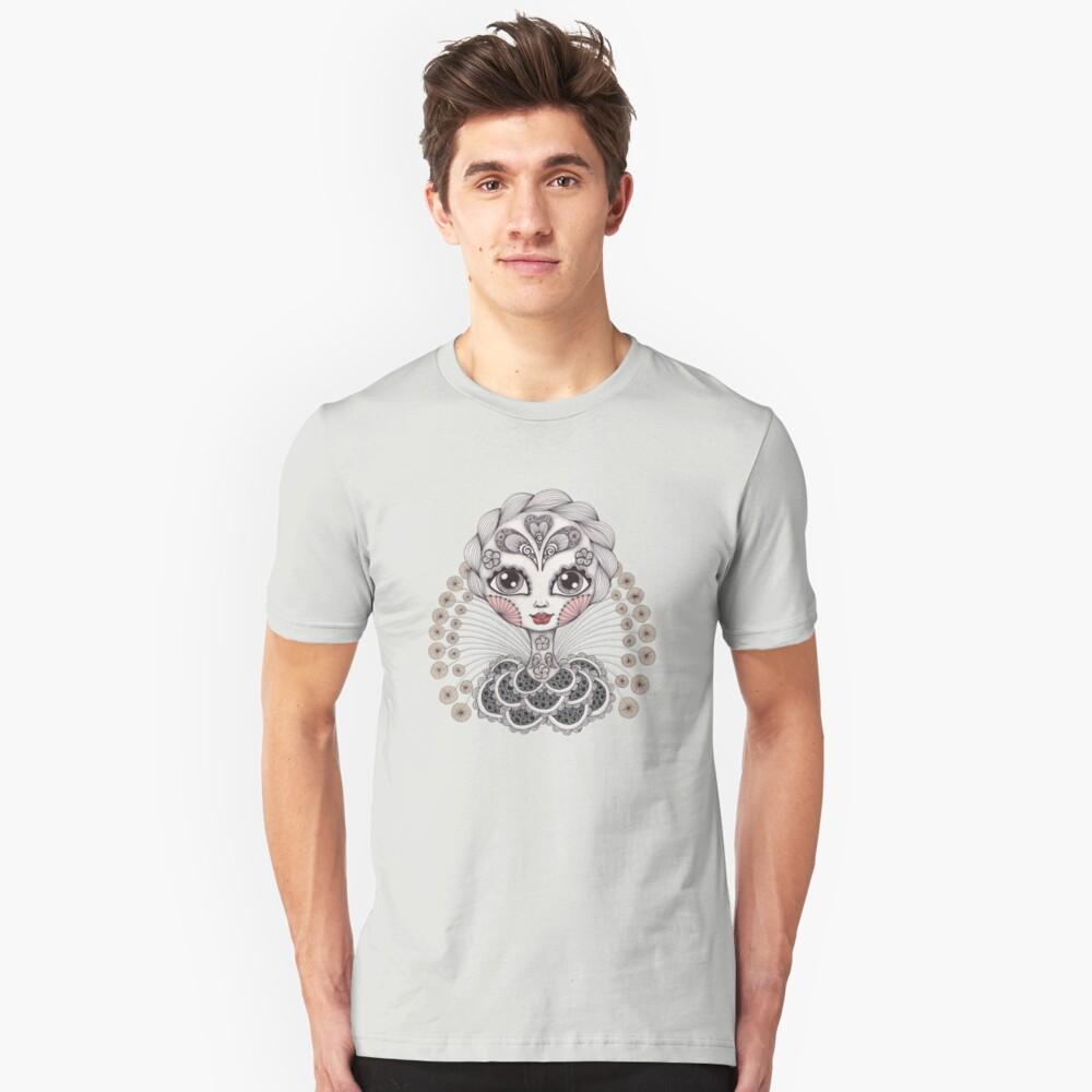 Miss Dia De Los Muertos Slim Fit T-Shirt
