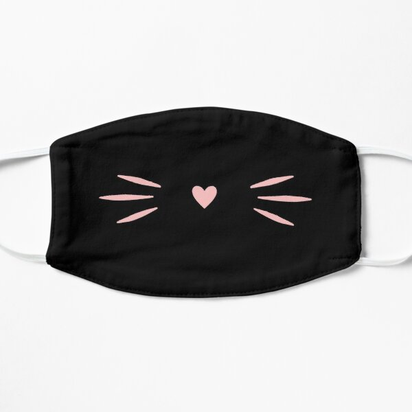 Cute whiskers mask Mask