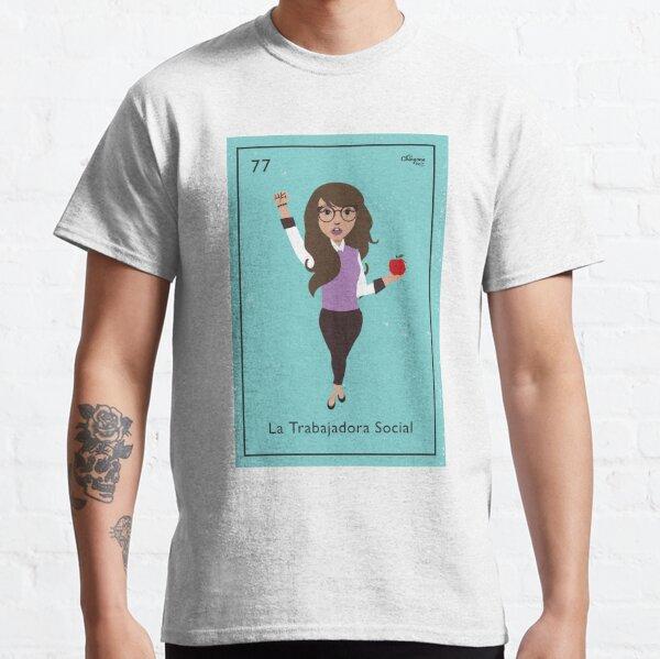 La Trabajadora Social Brunette Classic T-Shirt