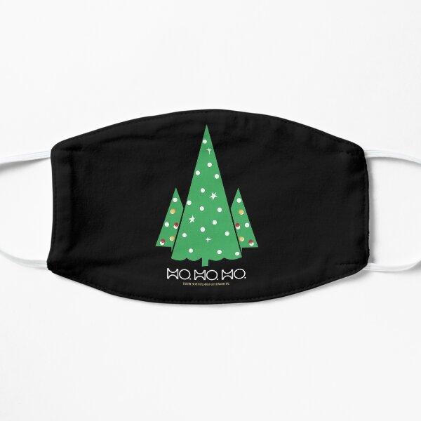 HO. HO. HO... Frohe Weihnachten Flache Maske