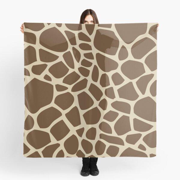 Giraffe Pattern Scarf