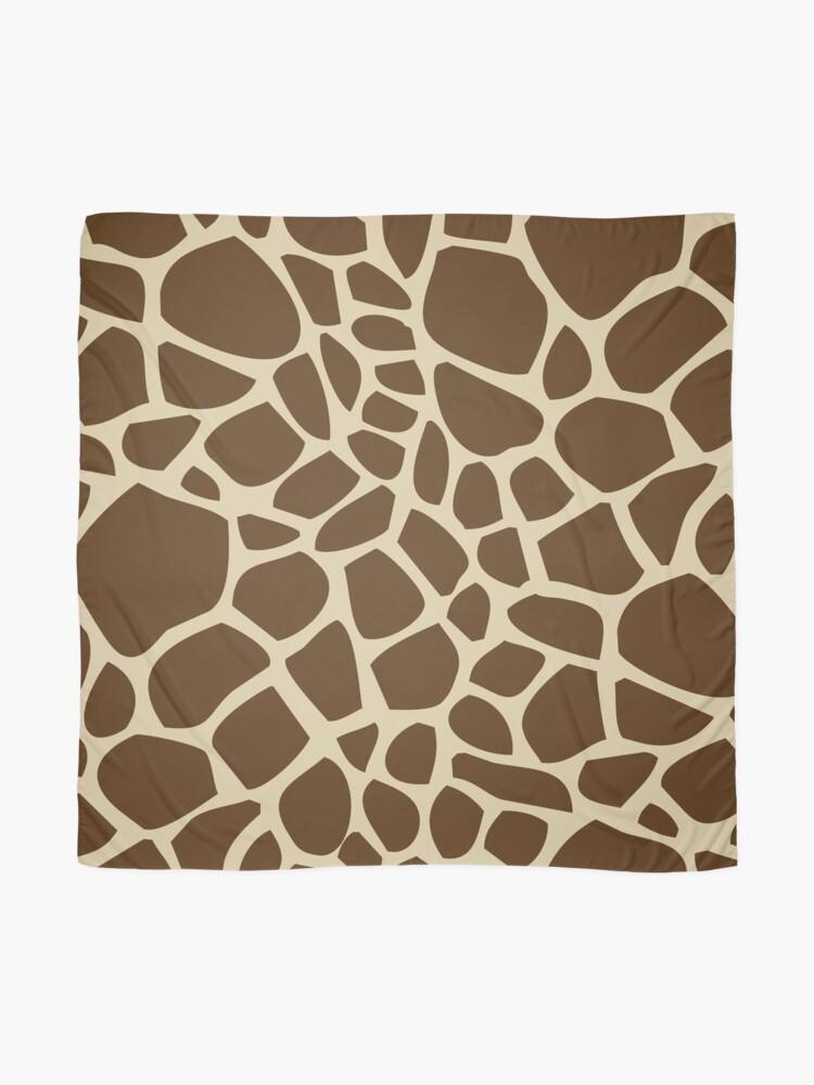 Alternate view of Giraffe Pattern Scarf