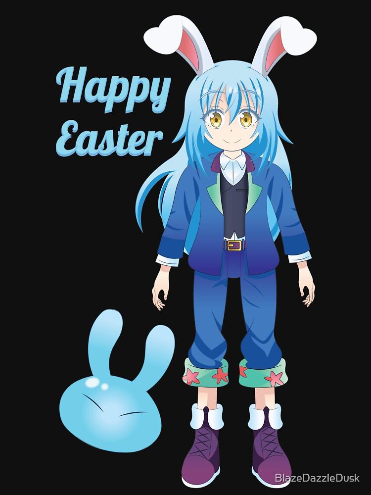 Happy Easter From Rimuru-Sama by BlazeDazzleDusk