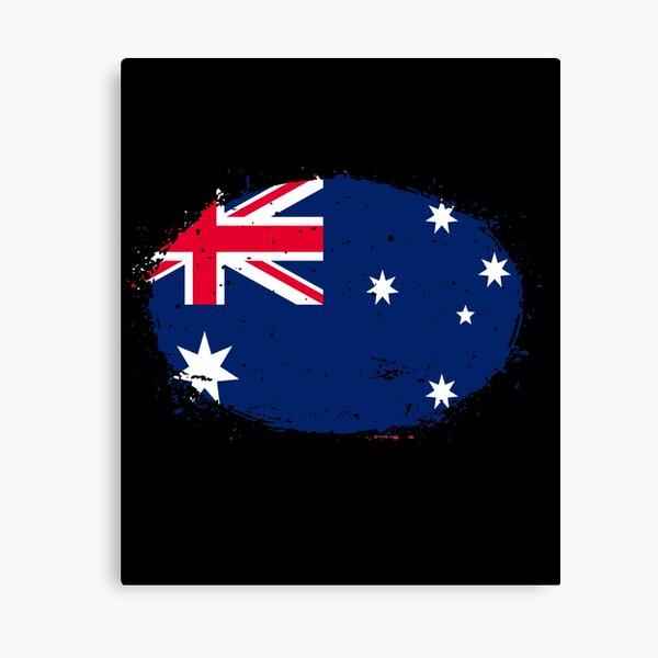Flag of Australia - Australia Flag Designs Canvas Print