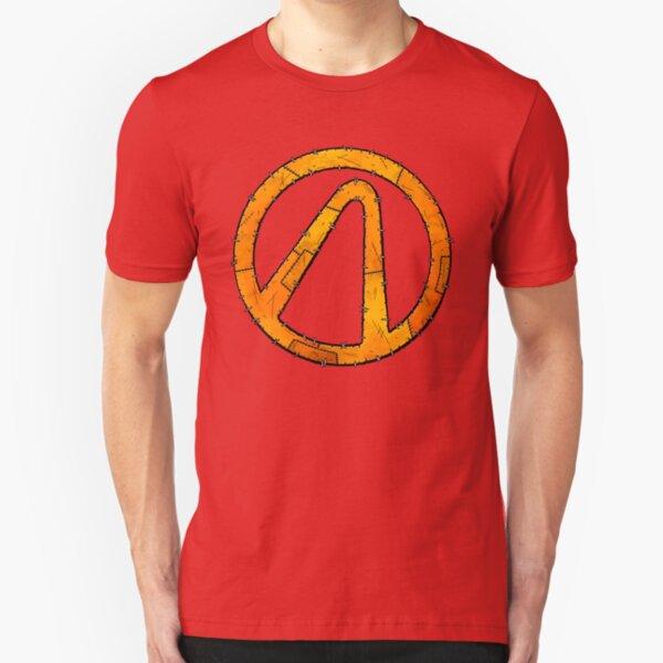 Vault Symbol Stitched - Borderlands Slim Fit T-Shirt
